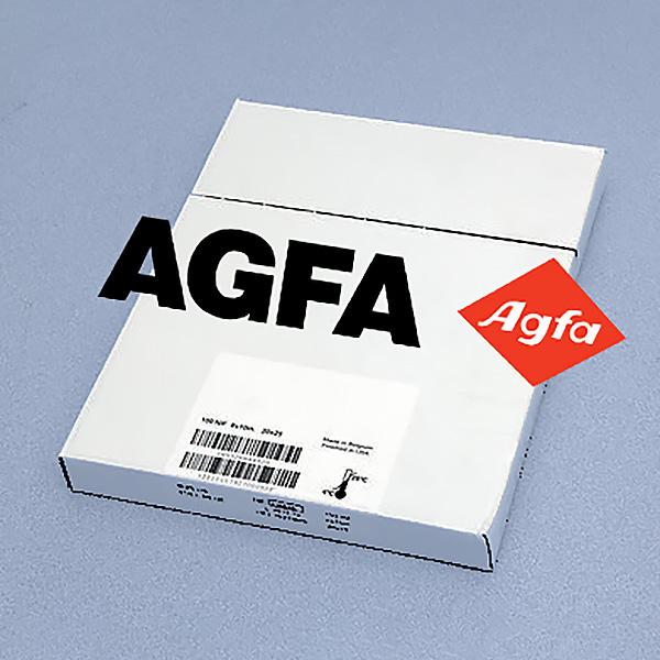 100 sheet Agfa half speed blue xray film